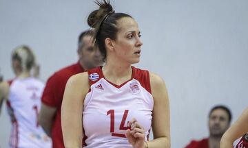 Ολυμπιακός: Η Χριστοδούλου κορυφαία πασαδόρος του πρώτου γύρου της Volley League γυναικών (pic)