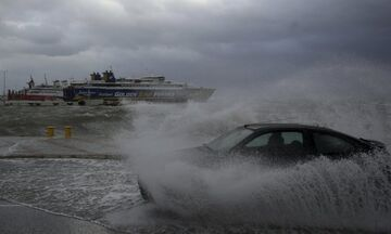 Καιρός: Που θα έχουμε ισχυρές καταιγίδες και πολλά μποφόρ