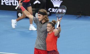 Australian Open: Με Καρούζο ο Τσιτσιπάς, με Γκασπαριάν η Σάκκαρη