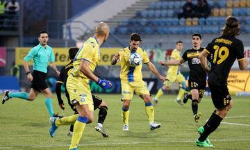 Αστέρας Τρίπολης - ΑΕΚ 1-1: Στον «αέρα» το προβάδισμα πρόκρισης στους «8» (highlights)
