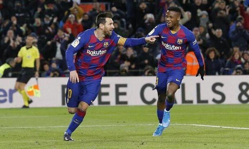 La Liga: Mε το δεξί του... Μέσι το ντεμπούτο Σετιέν (vid)!