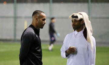 Τι γύρευε ο Ελ Αραμπί στο Κατάρ - Δείτε τον στο προπονητήριο της Αλ Ντουχαΐλ (vid-pics)