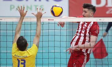 Ολυμπιακός - Παμβοχαϊκός 3-0: Συνεχίζουν στην κορυφή με 20άρη Ασπιώτη