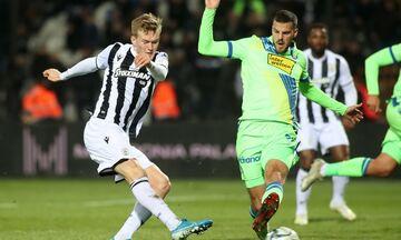 ΠΑΟΚ - Αστέρας Τρίπολης: To γκολ του Σβιντέρσκι για το 1-0 (vid)