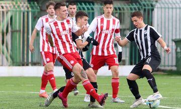 Super League K17: Πέρασε από την Κρήτη ο Ολυμπιακός, 4-0 τον ΟΦΗ