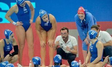 Εθνική πόλο γυναικών: Ηττήθηκε 12-7 από τη Ρωσία, με Ισπανία στους «8»