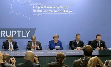 Ολοκληρώθηκε η διάσκεψη του Βερολίνου για τη Λιβύη - Αποφασίστηκε εκεχειρία
