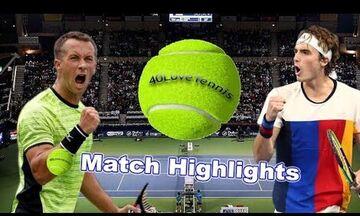Australian Open 2020: Με Κολσράιμπερ ο Τσιτσιπάς στον 2ο γύρο
