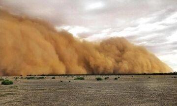 Κλιματικός εφιάλτης δίχως τέλος: Και αμμοθύελλες στην Αυστραλία! (vids)