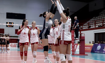 Challenge Cup Volley - Live Score: Γενισέι - Ολυμπιακός (1-3 σετ)