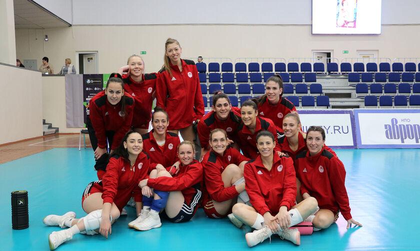 Γενισέι - Ολυμπιακός 1-3: Θρυλικά κορίτσια στη Σιβηρία!