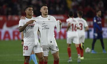 Copa Del Rey: Η πρόκριση της Σεβίλλης αφιερώθηκε στον Σάλα (vid)