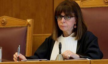 Με 261 ψήφους εξελέγη ΠτΔ η Αικατερίνη Σακελλαροπούλου