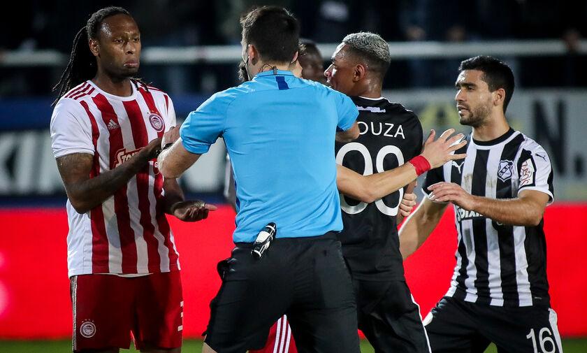 ΟΦΗ - Ολυμπιακός 0-1: Αποβλήθηκε μετά το τέλος του αγώνα ο Σεμέδο, χάνει το ντέρμπι με την ΑΕΚ (vid)