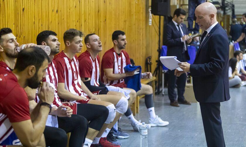 Κύπελλο Ελλάδας βόλεϊ ανδρών. Live Score: ΑΕΑρμενίων-Ολυμπιακός (21.15)