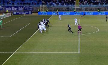Λαμία - ΠΑΟΚ: Με χαλασμένο VAR το γκολ του Μάτος για το 0-1 (vids)