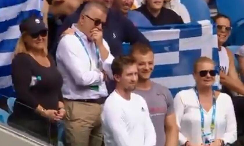 Australian Open 2020: Σάκκαρη: «Στους προπονητές, τη μαμά, τον μπαμπά...» κι ο Κώστας Σάκκαρης ξεσπά