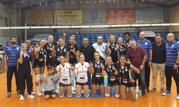 Volleyleague γυναικών: Live streaming Θέτιδα- ΑΟ Θήρας 2-3