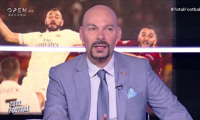 Τηλεθέαση: «Πάτωσε» η αθλητική εκπομπή του OPEN TV, Total Football, την Πέμπτη (23/1)