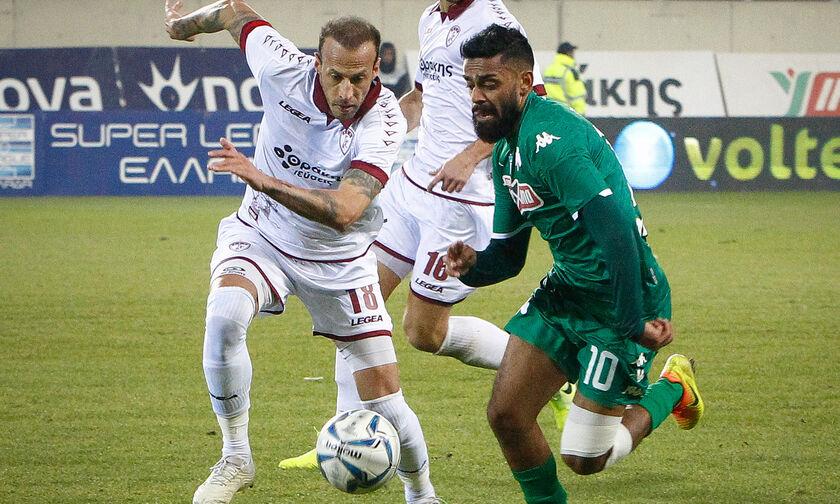 ΑΕΛ - Παναθηναϊκός 0-2: Τα highlights της αναμέτρησης