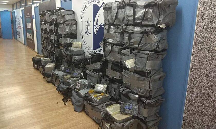 Από την Καραϊβική οι 1,18 τόνοι κοκαΐνης που κατασχέθηκαν στον Αστακό(pics)