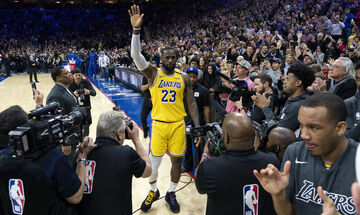 ΛεΜπρόν Τζέιμς: Τρίτος σκόρερ στην ιστορία του NBA, προσπέρασε τον Κόμπι
