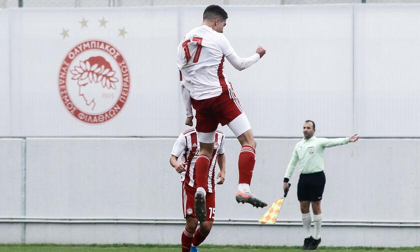 Super League K17: Ασταμάτητος ο Ολυμπιακός στην Τρίπολη, 3-0 τον Αστέρα