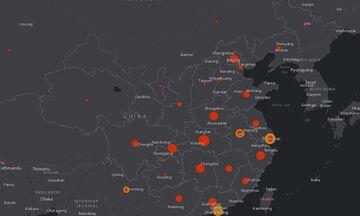 Κίνα-κοροναϊός: Η Γουχάν αναμένει άλλα 1.000 κρούσματα - Δείτε live την εξάπλωση του ιού