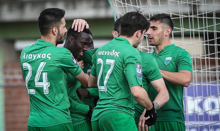 Super League 2: Ο Καραϊσκάκης λύγισε την Παναχαϊκή, «τεσσάρα» ο Λεβαδειακός (highlights)