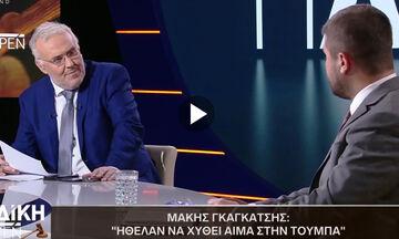 Σε σύγχυση ο Μάκης Γκαγκάτσης: «Ήθελαν να χυθεί αίμα στην Τούμπα» (vid)