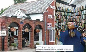 Βιβλιοπωλείο με 100ετή ιστορία αύξησε τις πωλήσεις του μέσω Twitter!