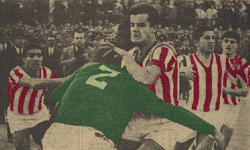 Το «αιώνιο» ντέρμπι του 1962 και το ανελέητο ξύλο μεταξύ παικτών! (pics - vid)