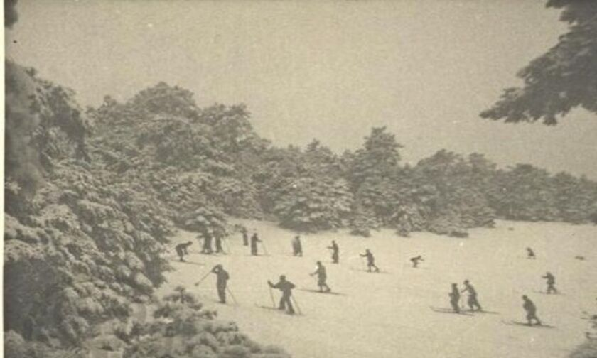 Όταν η Πάρνηθα είχε το δικό της Χιονοδρομικό κέντρο (pics)