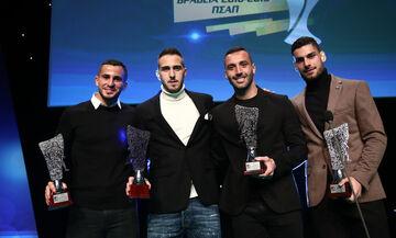 Βραβεία ΠΣΑΠ: Κορυφαίος ο Φορτούνης, στην καλύτερη ενδεκάδα πέντε «ερυθρόλευκοι»
