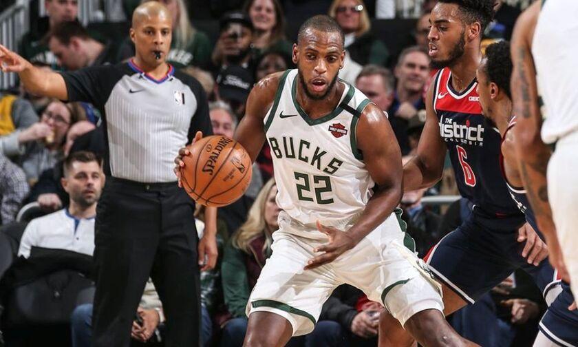 Μπακς - Ουίζαρντς 151-131: Και δεν είχαν Αντετοκούνμπο - Αποτελέσματα, βαθμολογίες NBA