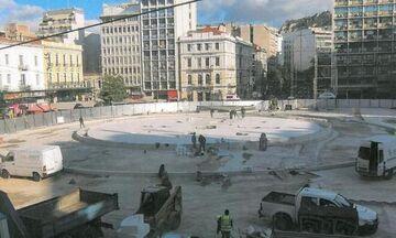 Πότε θα ολοκληρωθεί η ανακατασκευή της Πλατείας Ομονοίας