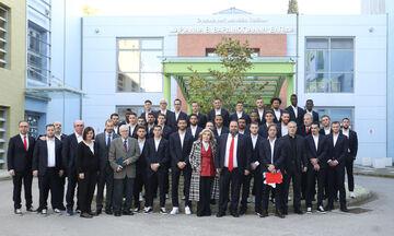 Ολυμπιακός: Με επικεφαλής τον Βαγγέλη Μαρινάκη στο ίδρυμα «Ελπίδα» (pics)