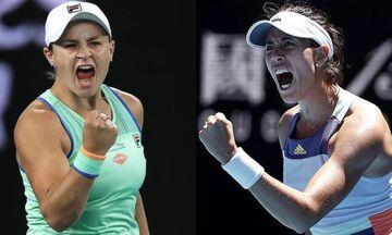 Australian Open: Σοφία Κένιν και Γκαρμπίνε Μουγκουρούθα στον τελικό (vids)