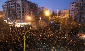 ΠΑΟΚ: Συλλαλητήριο με Γκαγκάτση στην Καμάρα (pic)