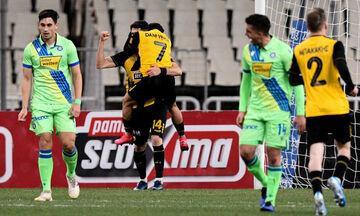 ΑΕΚ - Αστέρας Τρίπολης: Δύο γκολ μέσα σε τρία λεπτά με Μάνταλο, Αλμπάνη (vid)