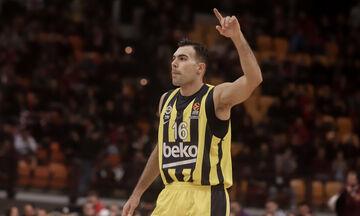 Σλούκας: Έφτασε τους 2.000 πόντους στη EuroLeague