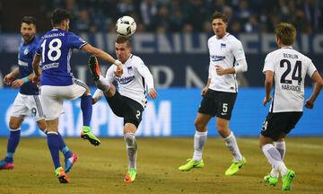 Bundesliga: «Άσφαιρα» έριχναν Χέρτα και Σάλκε (highlights)
