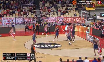Το τρομερό κάρφωμα του Μπάλντγουϊν στο TOP-10 της EuroLeague