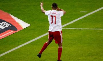 Ολυμπιακός - Ξάνθη: Ο Ελ Αραμπί σκοράρει για το 2-0 (vid)