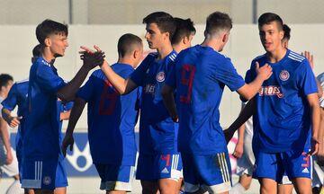Super League K17: Ο Ολυμπιακός «σκόρπισε» με 5-0 τον Απόλλωνα Σμύρνης