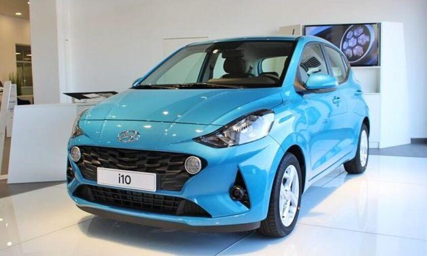 Ήρθε το νέο Hyundai i10 με τιμή από 11.190 ευρώ
