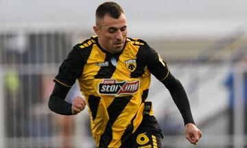 Ατρόμητος - ΑΕΚ: Το γκολ του Κρίστιτσιτς για το 0-1 (vid)