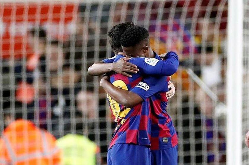 La Liga: Ξανά σ' απόσταση βολής με ρέκορντμαν Άνσου Φάτι η Μπάρτσα!
