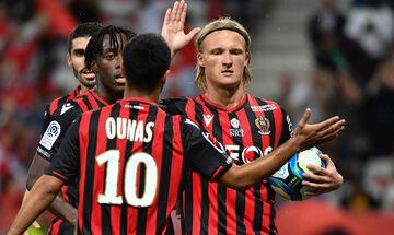 Ligue 1: «Εκδίκηση» για τη Νις, 2-1 τη Λιόν (αποτελέσματα, βαθμολογία)
