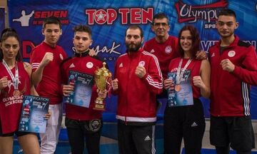 Ακόμα μία διάκριση για το Kickboxing του Ολυμπιακού